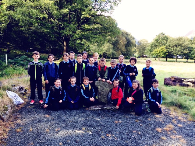 TREE DAY AT GLENDALOUGH - 4TH CLASS