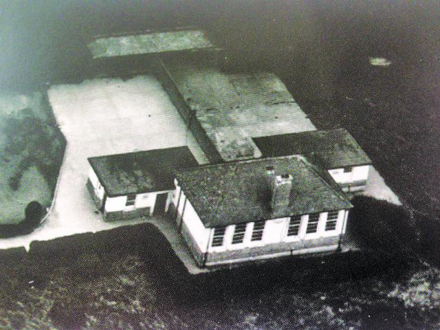 Aerial View Annacurra School 1940
